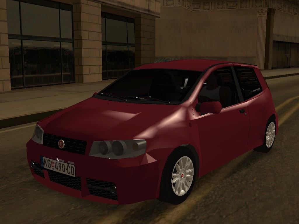 Gta Serbia  Fiat Punto Mk2