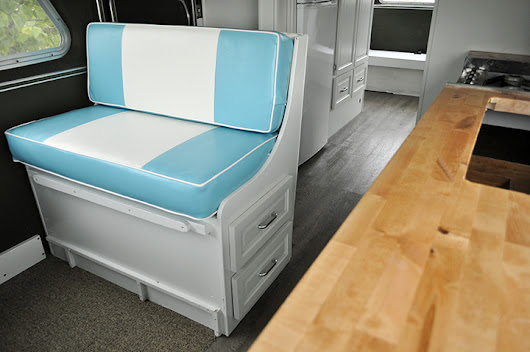 SPACEBALLS THE MOTORHOME: CUSTOM DINETTE CUSHIONS