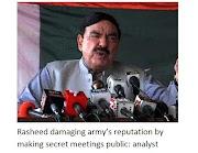 Rashid's secret meetings tarnish army's reputation: analyst
