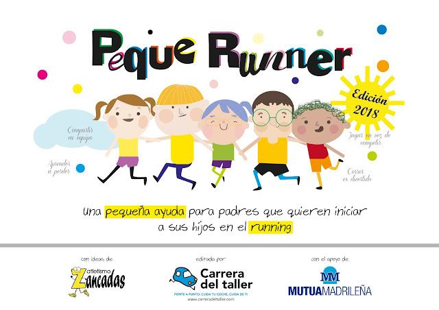 Guía PequeRunner con consejos para padres y madres que quieren educar a sus hijos en el running