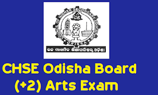 CHSE Odisha Time Table 2020 Arts