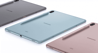 Samsung Releases Galaxy Tab S6, With 7.040mAh Battery and Snapdragon 855