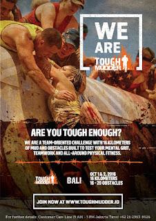 Source: Tough Mudder Bali. Event poster.
