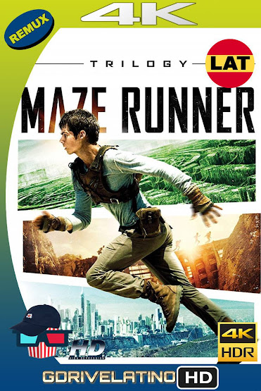 The Maze Runner (2014-2018) [Trilogía] BDRemux 4K HDR Latino-Ingles MKV