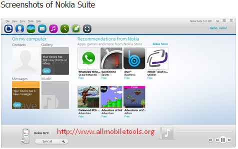 Nokia Ovi Suite Latest Version V3.8.48.0 Free Download For Windows