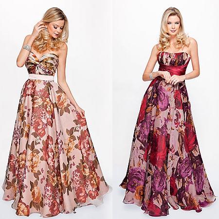Achei uma ideia bem bacana os vestidos floridos, lembrando que roupas  estampadas estão sempre na moda! 1b5544ba5b