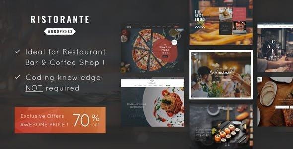 Ristorante v1.0 - Chủ đề nhà hàng WordPress