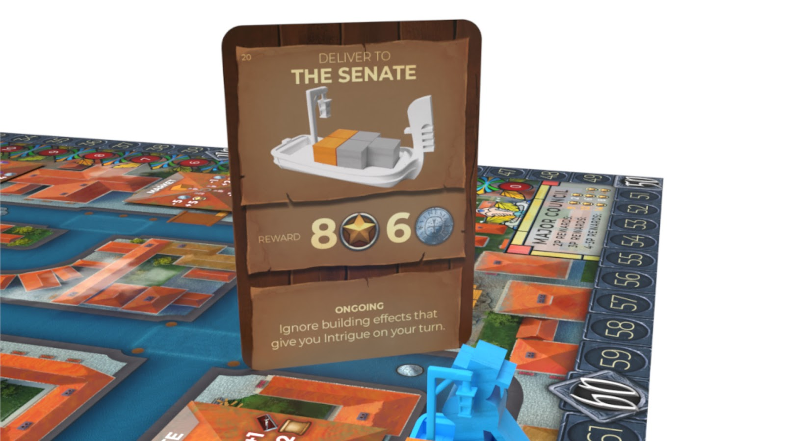 Kickstarter Highlight Venice Board Game Complete A Mission