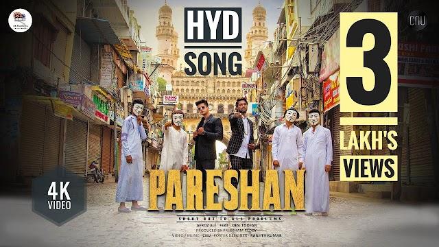 PARESHAN RAP SONG Lyrics - Afroz Ali