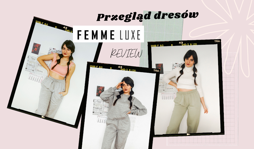 Femme Luxe loungewear haul REVIEW 2021 | Spodnie dresowe Femme Luxe PRZEGLĄD