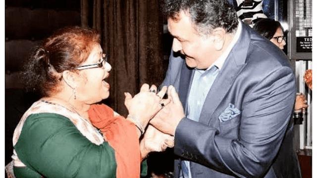 When Saroj Khan met Rishi Kapoor