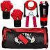 5 O' CLOCK SPORTS Fitness Kit (Red)