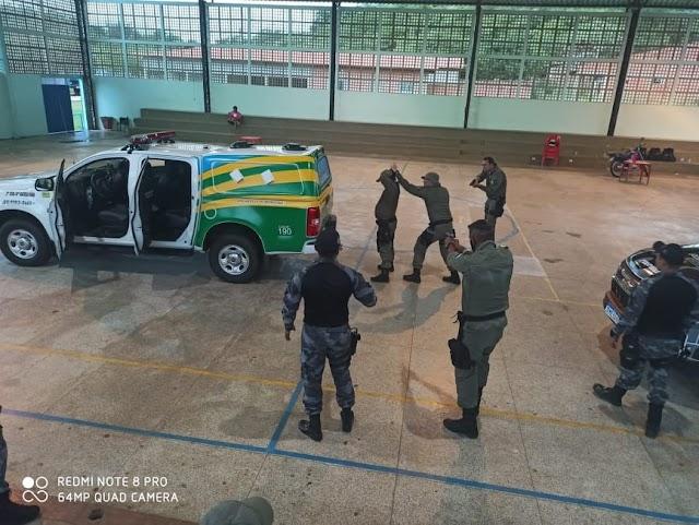 São Félix do Piauí: PM promove primeiro treinamento para policiais lotados em GPM´s de cidades do Vale do Sambito.