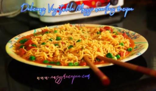 Vegetable Maggi noodles recipe – Street style masala Maggi