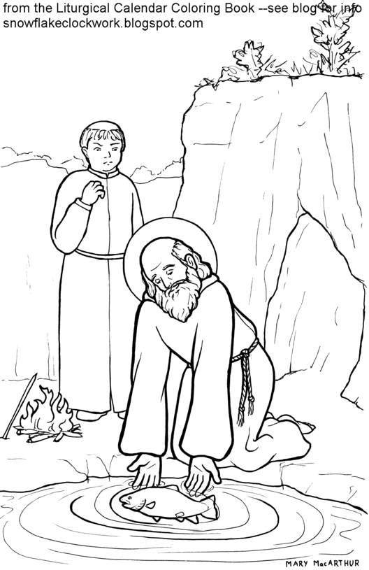 Saint francis of assisi coloring page free coloring pages for St francis coloring page