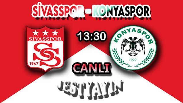 Sivasspor - Konyaspor canlı maç izle