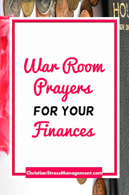 War Room Prayers for your Finances