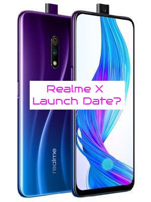 Realme X is not launching in India?