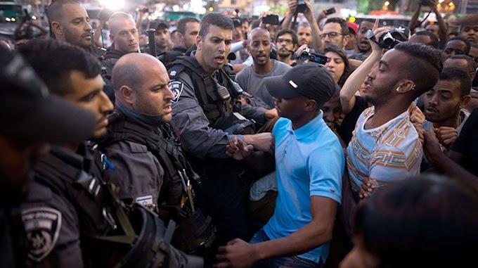 İsrailde sular durulmuyor 111 polis yaralı