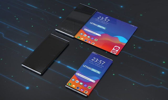شركة LG تعتزم إطلاق أول هاتف قابل للف