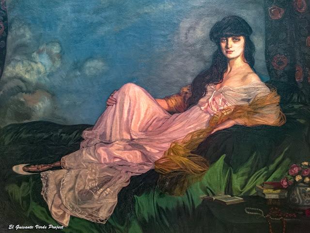 Retrato de la condesa Mathieu de Noailles, Ignacio Zuloaga - Museo Bilbao por EGVP