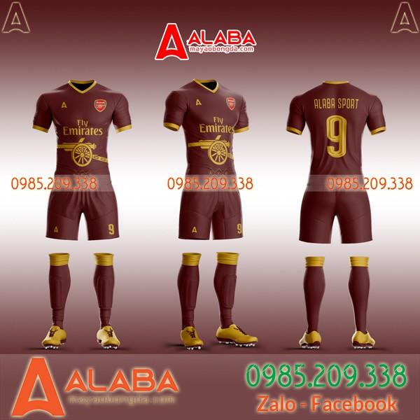 mẫu áo câu lạc arsenal đẹp và độc