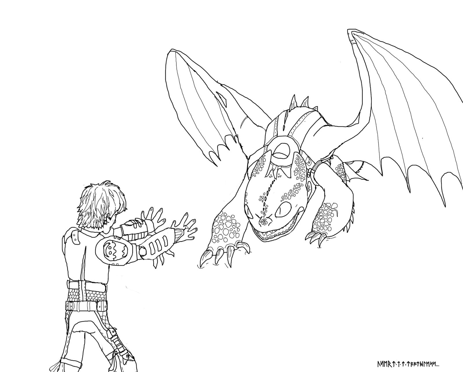 драконы и всадники олуха рисунки карандашом приходит нам