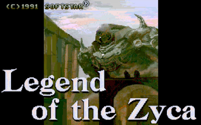 【Dos】破壞神傳說+密技+攻略,Legend of the Zyca!