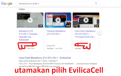 Mencari Firmware Yang Cocok Untuk Flash
