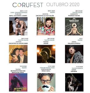 """Yoya Neira: """"O CoruFest é unha referencia nacional na cultura LGTBIQ+"""""""