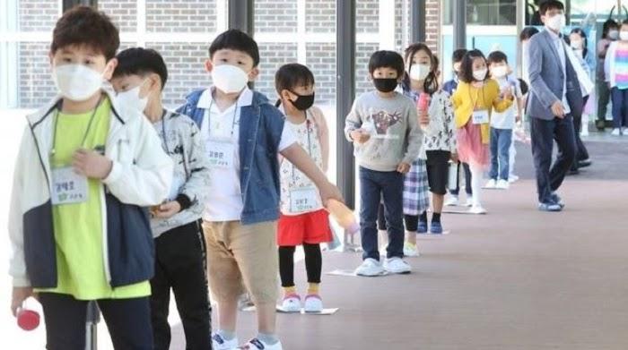 Virus Corona: Beberapa Hari Dibuka, Ratusan Sekolah Di Korea Selatan Harus Ditutup Lagi Karena Lonjakan Kasus