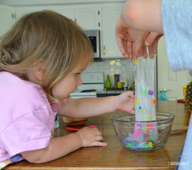 making slime without borax