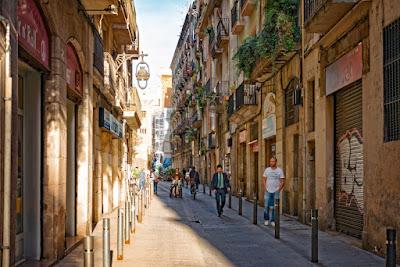 Gothic Quarter-Wisata Barcelona
