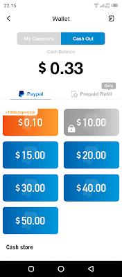 Rekomendasi Mendapatkan Uang dari Internet dengan PayPal ClipClaps - Dengan hanya Modal Kuota dan Android