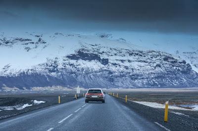 Ring Road en invierno en Islandia