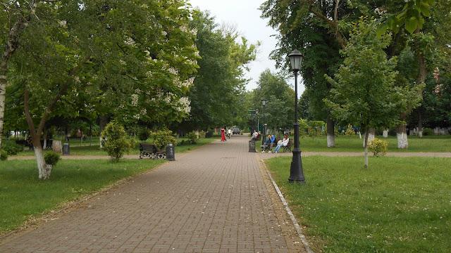 парк железнодорожный