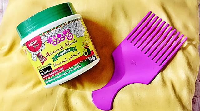 Resenha Máscara de Abacate Vegana Salon Line