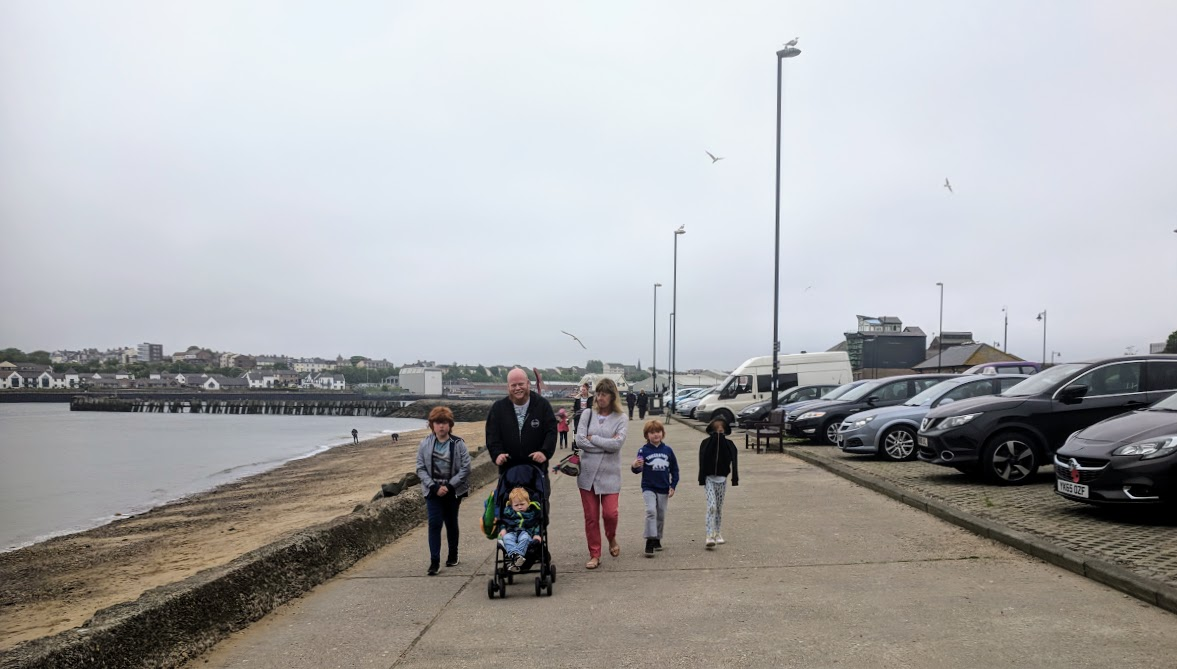 10+ Easy Coastal Walks in North East England  (less than 2 hours long) - North Shields Fish Quay Walk