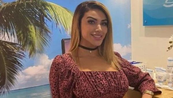 Brazilian Model Married Herself