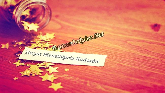 Hayat Hissettiğiniz Kadar- inanankalpler.net