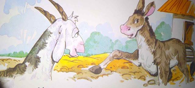 बकरी की सलाह ( Best Hindi Stories For class 2 )