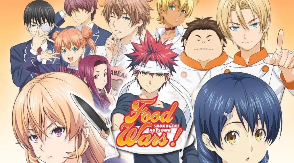 Panduan Urutan Menonton Anime Shokugeki no Souma
