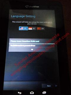 setting setelah selesai flash smartfrenandromax tab 7.0