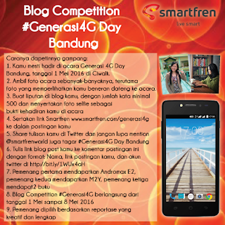 Blog Competition #Generasi4G Day Bandung