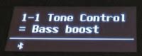 ES520 Tone Control - bass boost