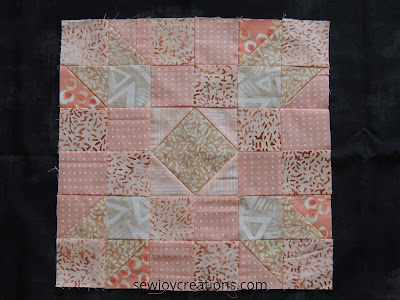 buff monthly color challenge block Patterns by Jen