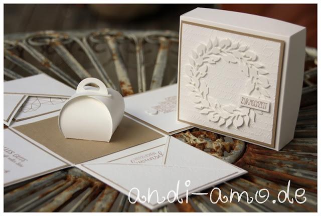 Explosionsbox zur Hochzeit Stampin Up