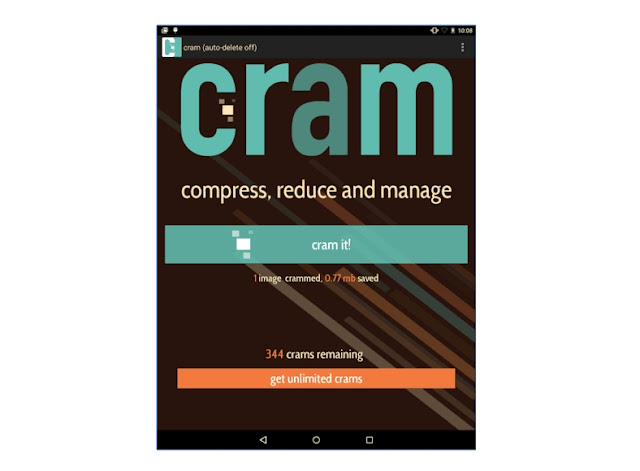 reduce image size without losing quality on Android
