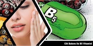 B5 Vitamini Cilt Bakımı