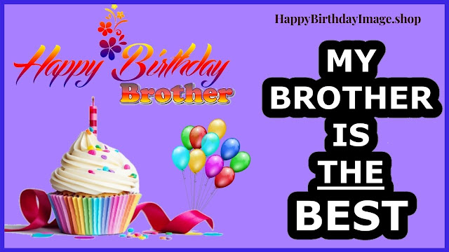 happy birthday wishes for brother cake